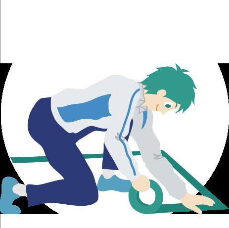 丁寧な養生と工事後の清掃